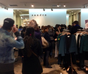 The madness of Les Soldes.
