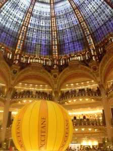 At the Galleries Lafayette
