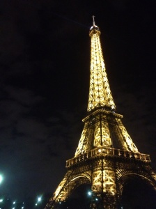 Beautifully lit on Friday night.