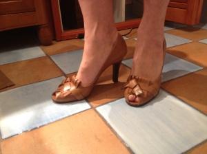 Barb's new D&G pumps.