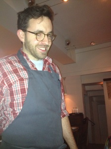 This is the chef at Verjus. American.
