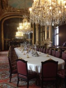Napoleon's dining room.