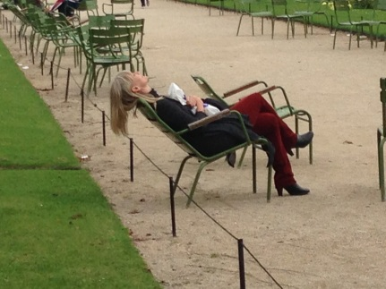 Barb at Tuilleries