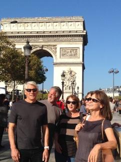 At L'Arc de Triomphe