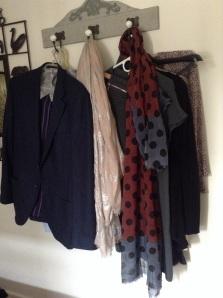 My and David's closet
