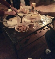 "Cheese platter ""the kids"" made us"