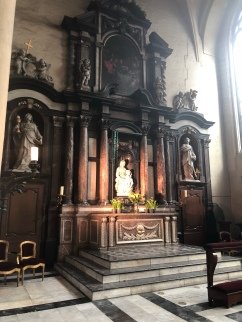 Michaelangelo's statue at Bruge