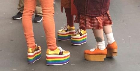 Let's Talk about Those Shoes