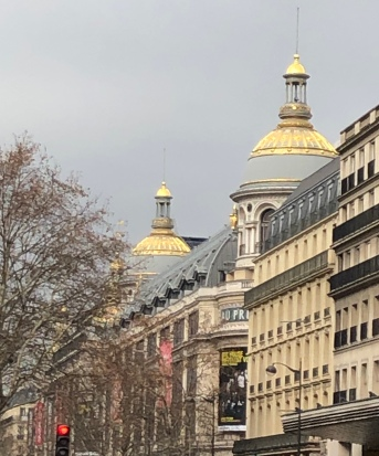 Domes of Printemps and Matching Sky, Paris 9th