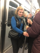 First time on the subway