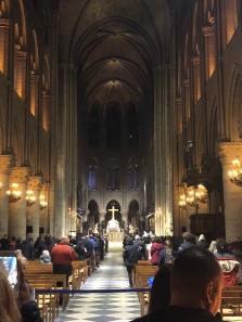 Mass at Notre Dame