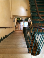 View of apartment stairs