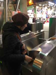 Judy, Metro turnstiles are hard!