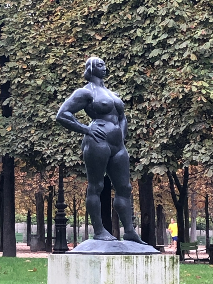 A Statue in Tuileries